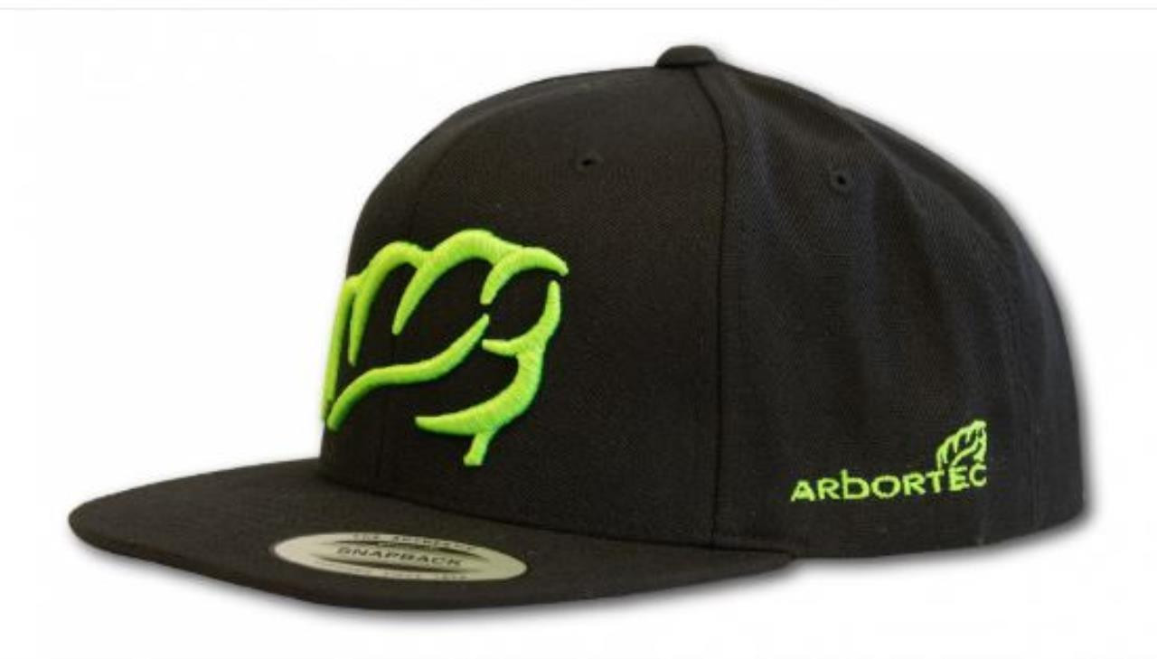 ARBORTEC BASEBALL CAP BLACK/LIME