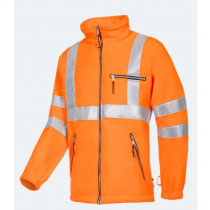 REIMS HI-VIS FLEECE ORANGE EN20471