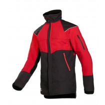 CHAINSAW JACKET RED/BLACK