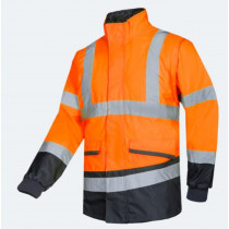 MALBRO HI-VIS ORANGE/GREY EN20471
