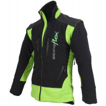 BREATHEFLEX BLACK/LIME JACKET