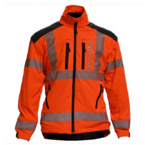 BREATHEFLEX JACKET HIVIS ORANGE