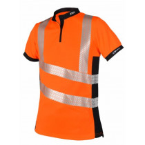 X25 VENTOUT Hi-Viz ShortSleeve Orange
