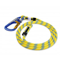 WORK POSITIONING LANYARD WITH SNAP